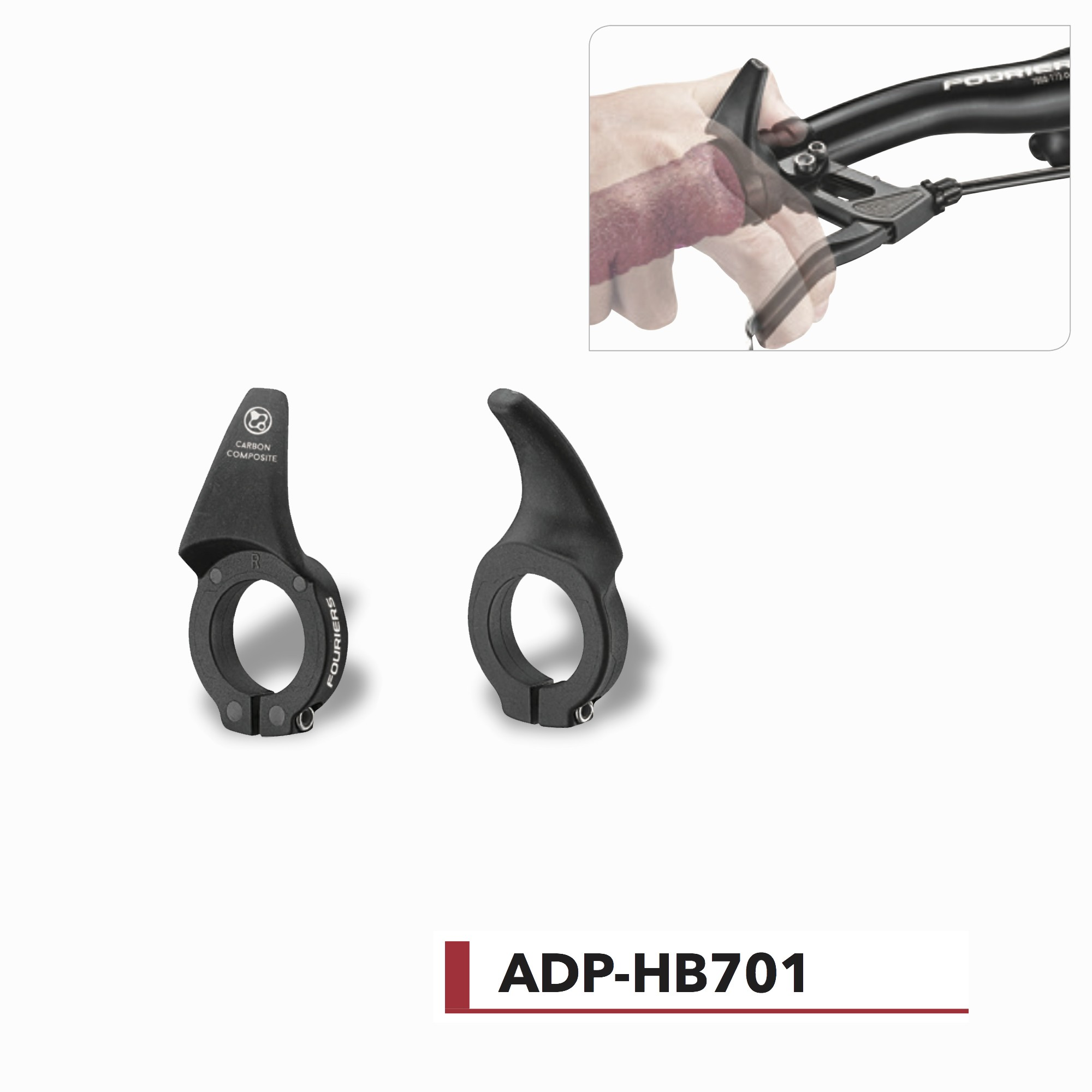 Extensions Carbone VTT Fouriers ADP-HB701