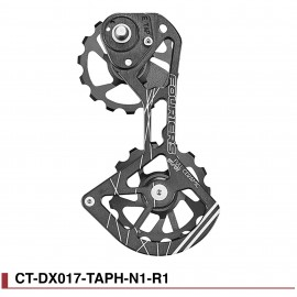Chape grands galets Full Ceramic pour Sram Red E-Tap 11v Fouriers