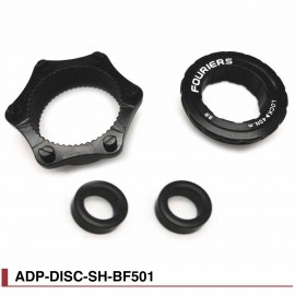 Adaptateur Boost Roue avant Center Lock Fouriers ADP-DISC-SSH-BF501